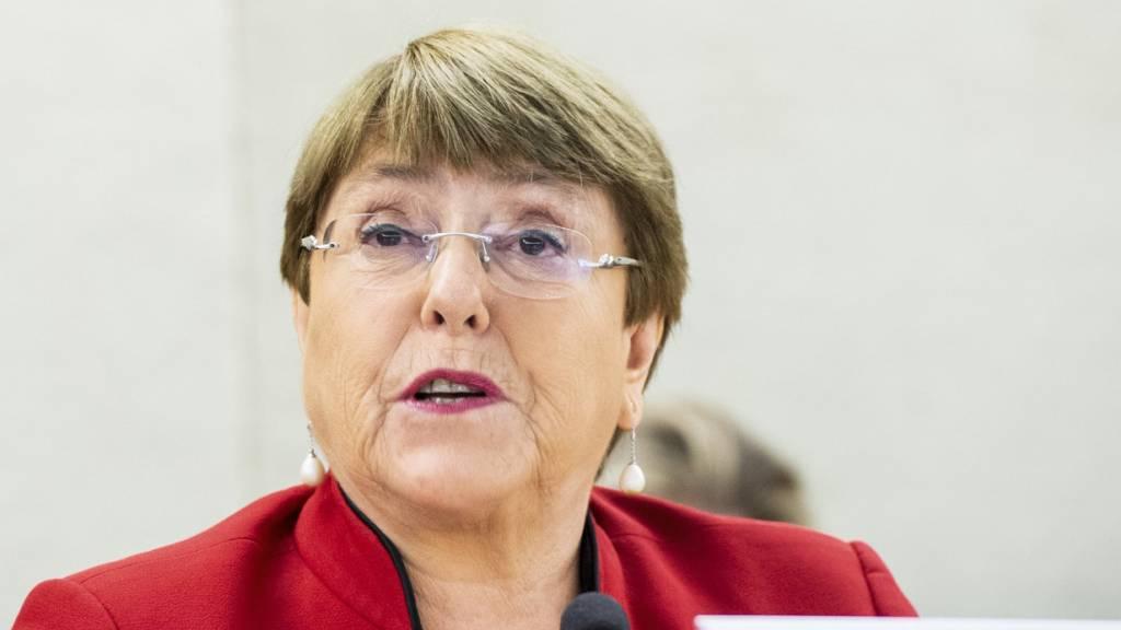 Michelle Bachelet ist Hochkommissarin der Vereinten Nationen für Menschenrechte. Foto: Violaine Martin/UN Geneva/dpa