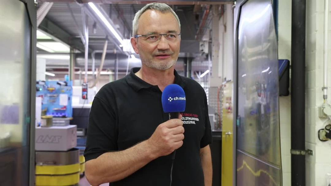 Thomas Heimann, Projektleiter Nacht der Solothurner Industrie: «Wir wollen die Industrie der Bevölkerung näher bringen»