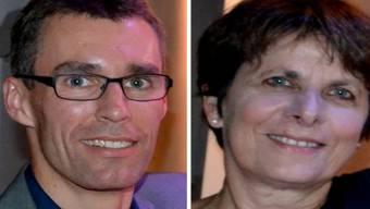 Lukas Pfisterer (links) und Jolanda Urech kämpfen auch bei den jungen Wählerinnen und Wähler um wichtige Stimmen für das Stadtpräsidium.