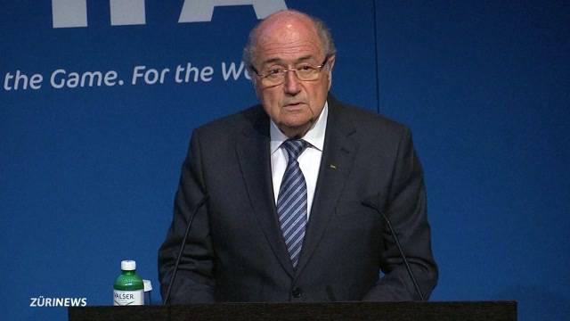 Sepp Blatter tritt als Fifa-Präsident zurück