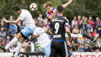 Impressionen vom Cup-Spiel des FC Basel bei Zug 94
