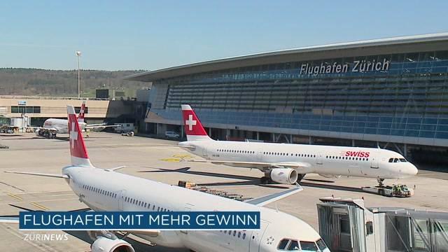Flughafen Zürich steigert Gewinn um 50 Prozent