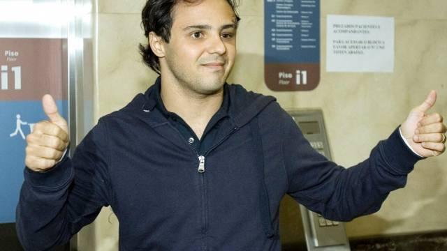 Daumen hoch von Felipe Massa