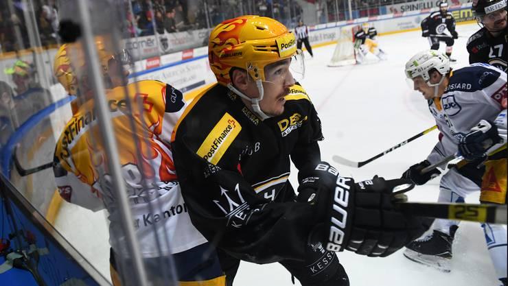 Dario Bürgler und der HC Lugano sind gegen Zug grandios gescheitert.