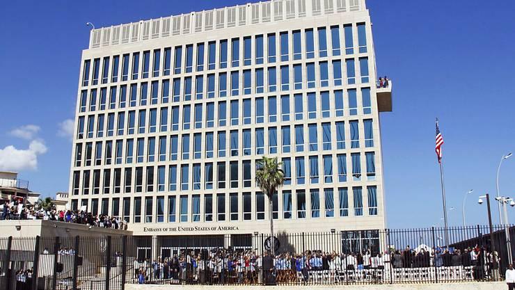 Der Personalbestand der US-Botschaft in Havanna wird weiter reduziert. (Archiv)