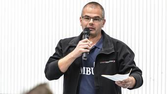 Im April noch wirkte Daniel Laubscher bei der Quartierkonferenz Weststadt mit.