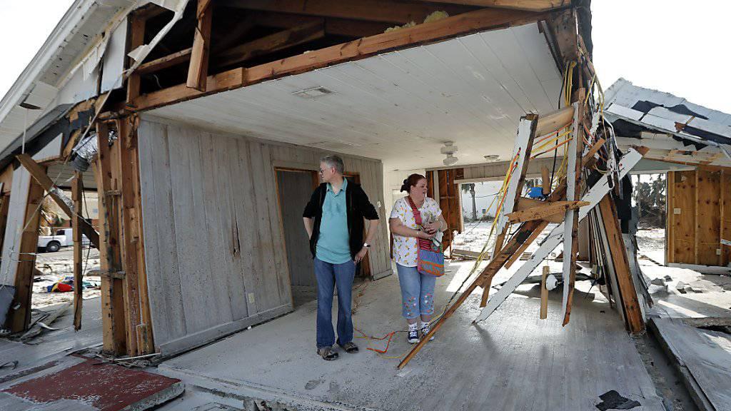 Katastrophen wie der Hurrikan «Michael» haben in diesem Jahr einen Schaden von schätzungsweise 155 Milliarden Dollar angerichtet. (Archiv)