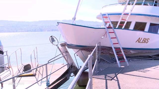 Schweres Schiffsunglück in Küsnacht