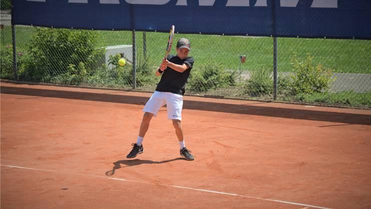 Will dereinst in den ATP World Tour Finals, dem Turnier der acht besten Spieler der Welt, antreten: Nicolas Kobelt hat sein Ziel klar vor Augen.