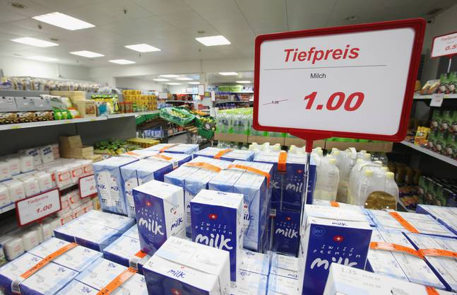 Die Caritas-Märkte führen ein garantiertes Sortiment von Artikeln des täglichen Bedarfs zu Tiefstpreisen.