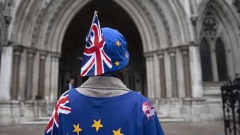 Die britische Premierministerin Theresa May ist einer Schlappe in den Brexit-Verhandlungen im Londoner Parlament nur knapp entgangen. (Symbolbild)