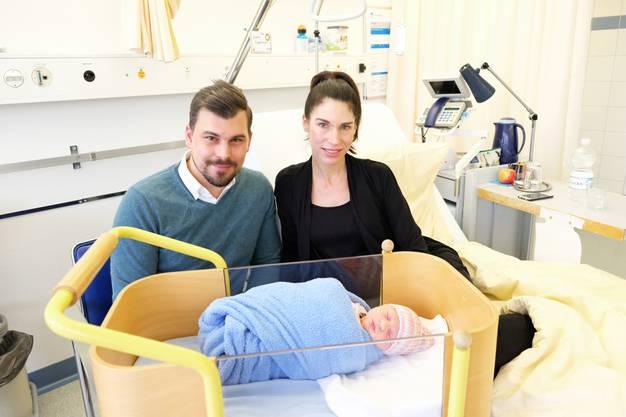 Die Eltern Judith Opferkuch und Thomas Rüttimann. Bild: Stefania Telesca