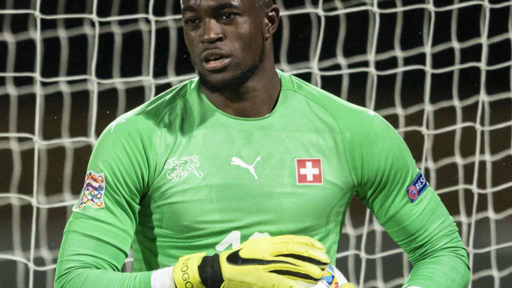 Yvon Mvogo steht am Mittwoch gegen Katar im Schweizer Tor