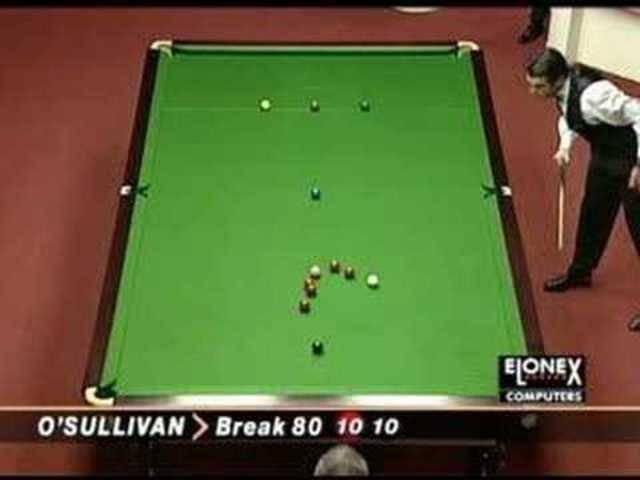 Ronnie O'Sullivan schnellstes 147er-Break