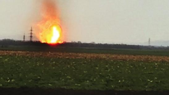Explosion bei Gasstation in Österreich