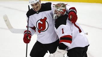 Der dreifache Torschütze Brian Boyle und Goalie Keith Kinkaid waren die Matchwinner der Devils