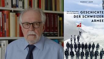 Prof. Rudolf Jaun hat ein neues Buch geschrieben.