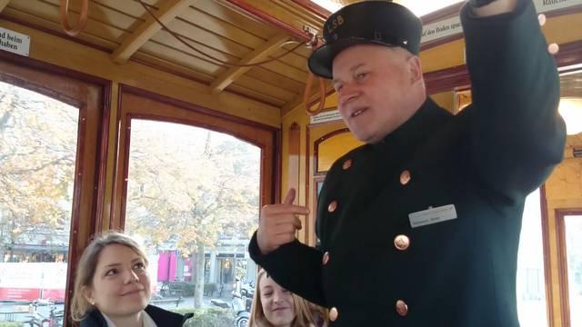 «Die Bevölkerung hatte schon früher den richtigen Riecher»:  Hanspeter Bühler, ehrenamtlicher Mitarbeiter Tram-Museum Zürich.