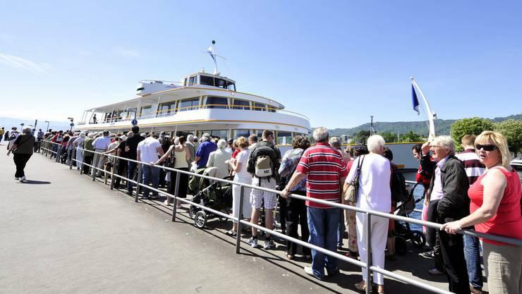 Mehr Schiffspassagiere auf dem Zürichsee dank herrlichem Sommer. (Symbolbild)