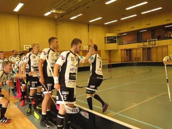 Die Tigersharks durften im Spiel gegen Regensorf acht Mal jubeln.