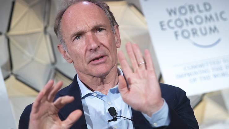 Legte den Grundstein für das Internet: der britische Physiker Tim Berners-Lee. (Archivbild)