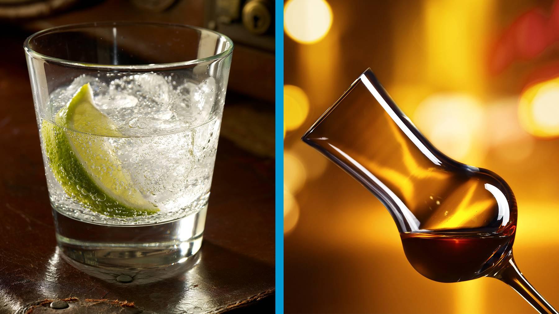 Gin oder Grappa?
