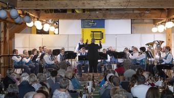 «Wiener Blut» und «Arosa» waren zwei der Stücke, welche die MG Fidau Egerkingen spielte.