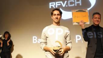 Der Künstler Audio Dope wurde mit dem diesjährigen Basler Pop Preis ausgezeichnet. Der RFV würde gern noch mehr Künstler fördern.