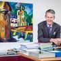 «Wir rechnen in der Stadt Luzern mit einer Zimmerauslastung von 90 Prozent»: Marcel Perren, Direktor Luzern Tourismus, in seinem Büro.