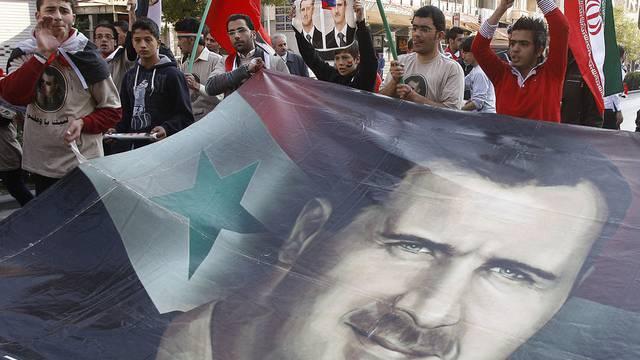 Trotz Kundgebungen der Assad-Anhänger steigt der Druck auf das syrische Regime (Archiv)