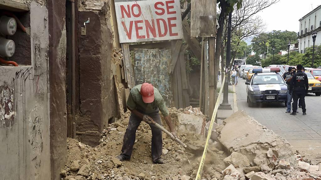 Bereits vor einem Jahr war Mexiko von einem Erdbeben erschüttert worden. (Archivbild)