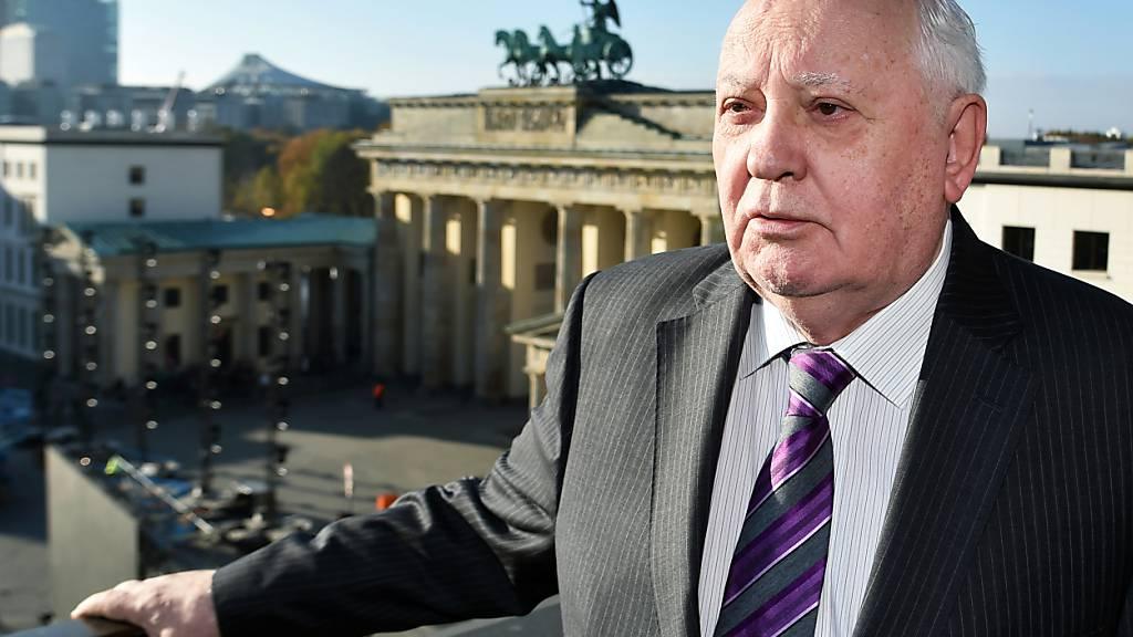 ARCHIV - Vor seinem 90. Geburtstag hat der frühere Kremlchef Michail Gorbatschow die Hoffnung auf eine Besserung des Verhältnisses zur Europäischen Union geäußert. Foto: Jens Kalaene/dpa-Zentralbild/dpa