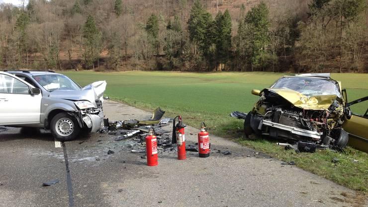 Zum Unfall kam es auf der Liestalerstrasse in Büren.