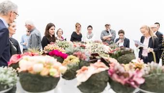 Die Ausstellung «Blumen für die Kunst» erhält die nächsten drei Jahre insgesamt 375 000 Franken. (Bild der diesjährigen Ausstellung)