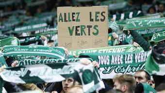 Der Support in Marseille nützte wenig: Saint-Etienne verspielte in der 94. Minute den ersten Sieg im Vélodrome seit 1979