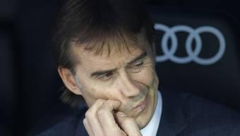 Reals Mannschaft bringt Trainer Julen Lopetegui ins Grübeln