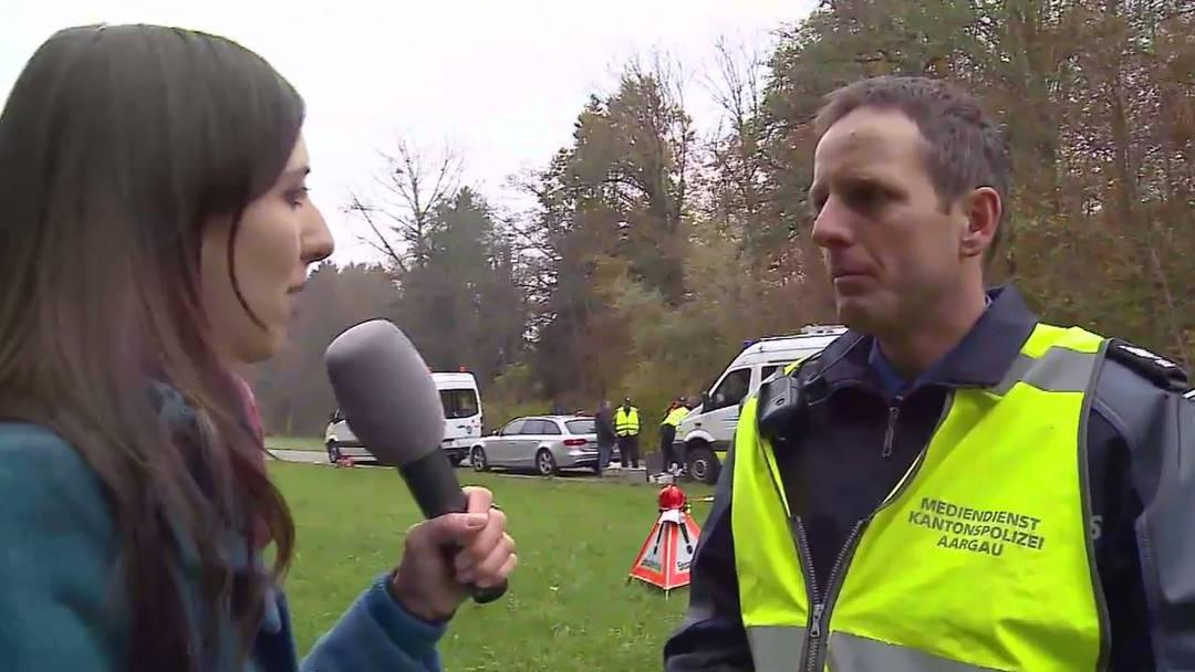 Tele M1 im Interview mit Polizeisprecher Berhard Graser.