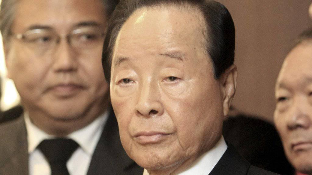 Kim Young Sam war 1993 der erste zivile Staatschef Südkoreas seit 30 Jahren: Am Sonntag starb er 87-jährig. (Archivbild)