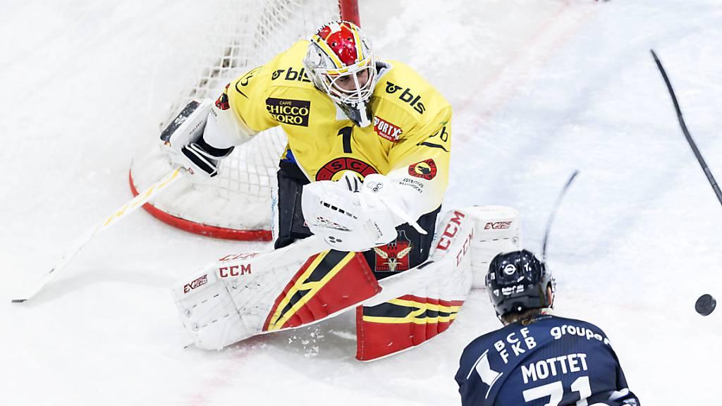 Goalie Schlegel von Bern zu Lugano