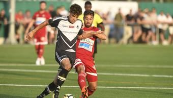 Die Black Stars im Aufsteigsspiel gegen Baden. Im Cup treffen die Basler auf den FC Zürich.