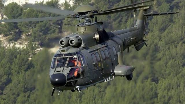 Superpuma-Helikopter der Schweizer Armee (Archiv)
