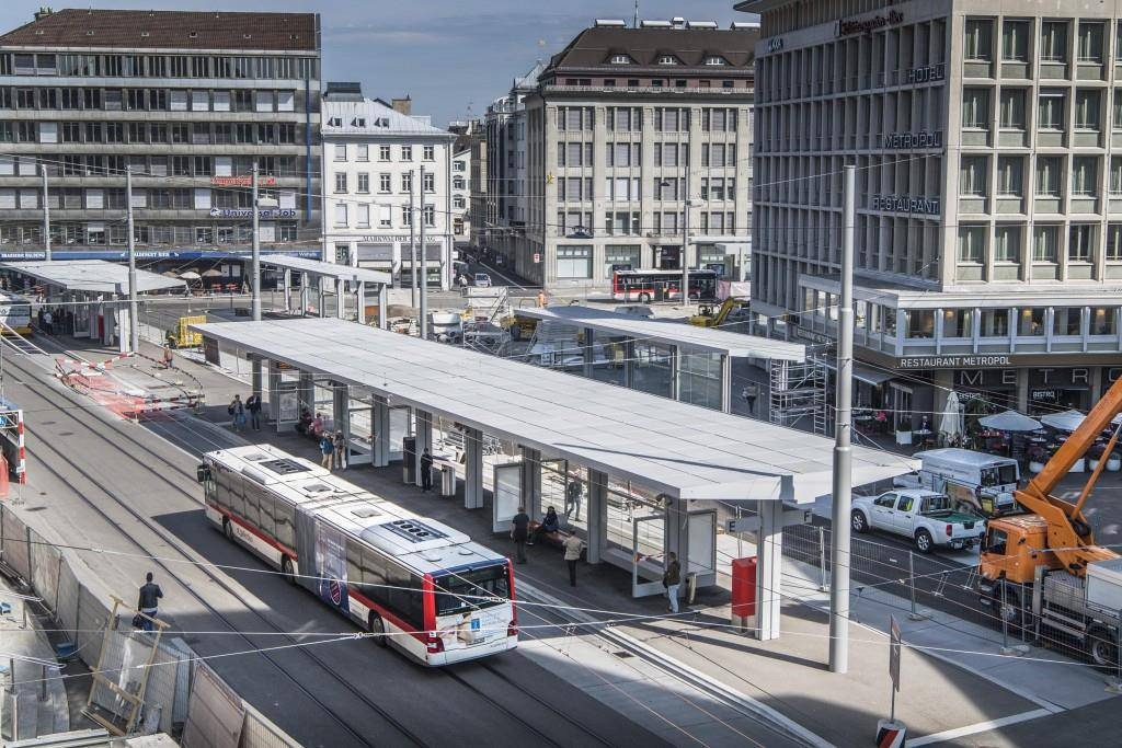 Umbau Bahnhof St.Gallen (© Tagblatt/Ralph Ribi)