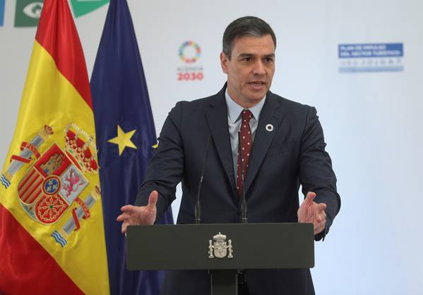 «Keine Kenntnis»: Spaniens Ministerpräsident Pedro Sánchez.