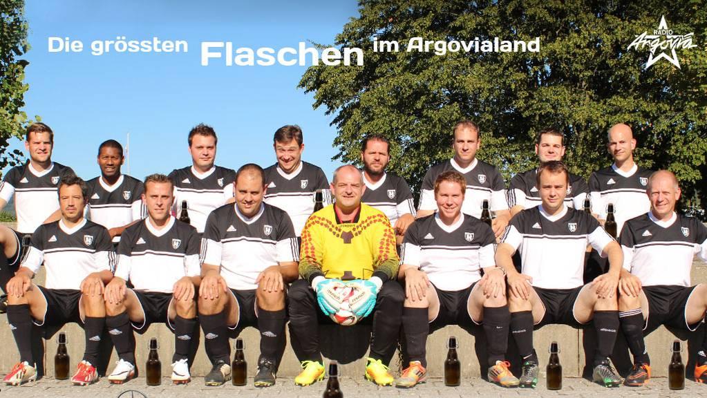 Senioren 30+ Brugg Fussball Flaschen des Kantons Final