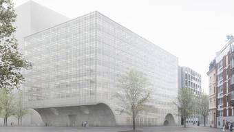 Neubau für das Departement Biomedizin der Universität Basel