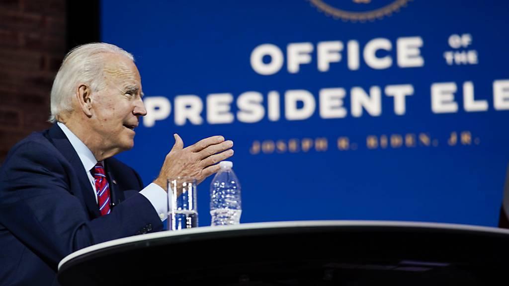 Biden: Amerika wird die Welt wieder anführen