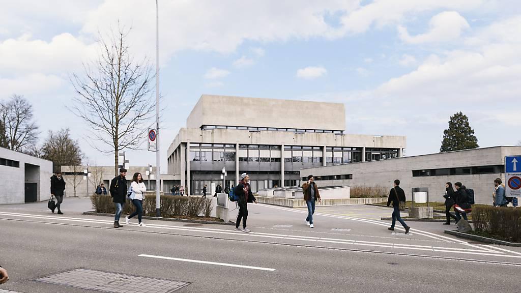 Die Zahl der Studierenden an der Universität St. Gallen steigt weiter an. (Archivbild)