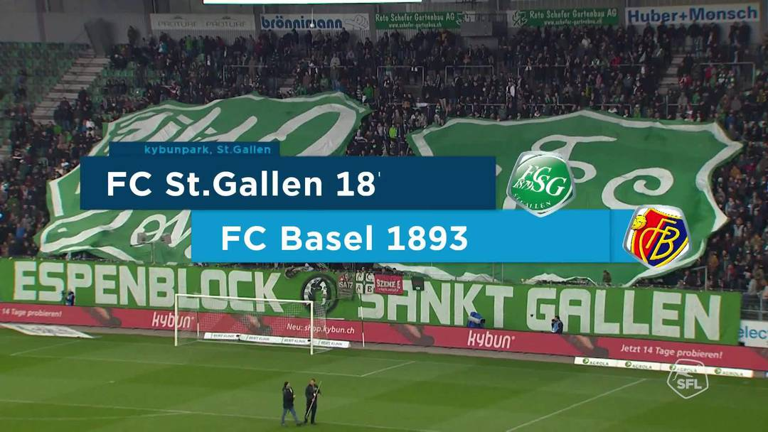 Super League, Saison 2018/19, Runde 31, St. Gallen-FC Basel, Highlights