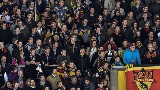 Abermals am zahlreichsten erschienen: Fans des SC Bern