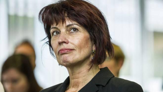 Medienministerin Doris Leuthard (CVP) hat zur Aussprache geladen. Foto: Chris Iseli